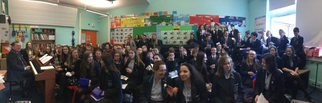 choir crammed in